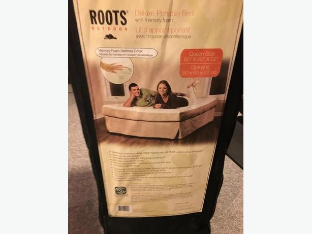 Roots Memory Foam Bed - excellent condition