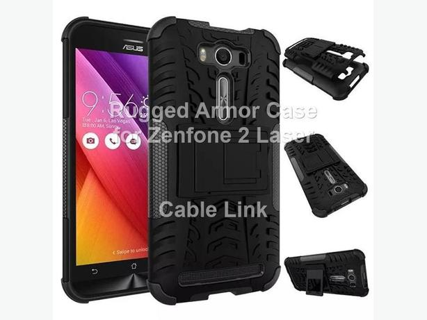 New Heavy Duty Shockproof Rugged Armor Case for Zenfone 2 Laser