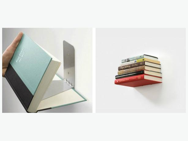 Umbra invisible bookshelf