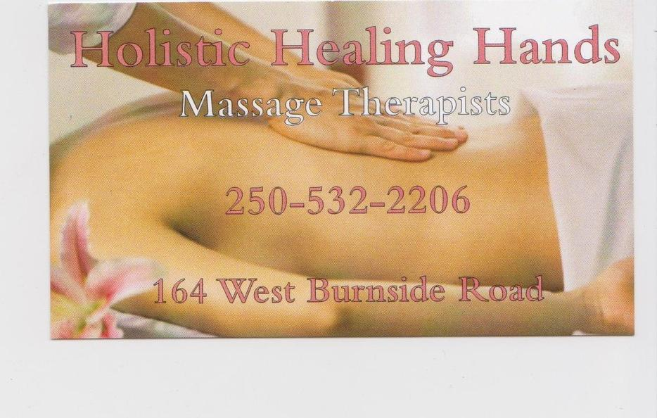 Holistic Healing Hands massage and beauty therapists ...