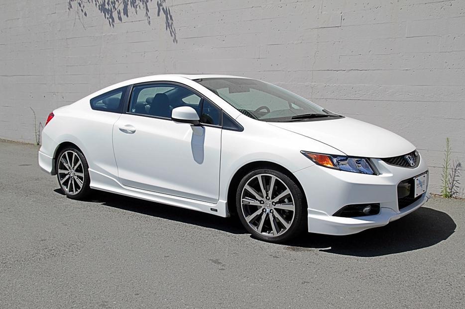 2012 Honda Civic Si Hfp 31 000km Loaded Outside Cowichan
