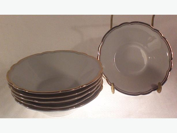 Fisher China coupe dessert bowls