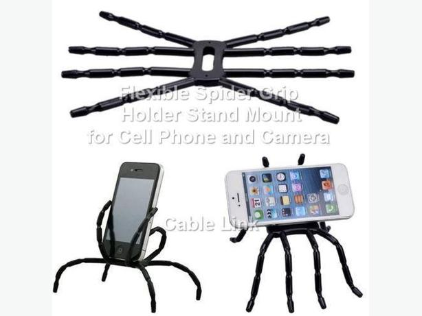 Flexible Spider Grip Holder Stand Mount for Cell Phones Camera