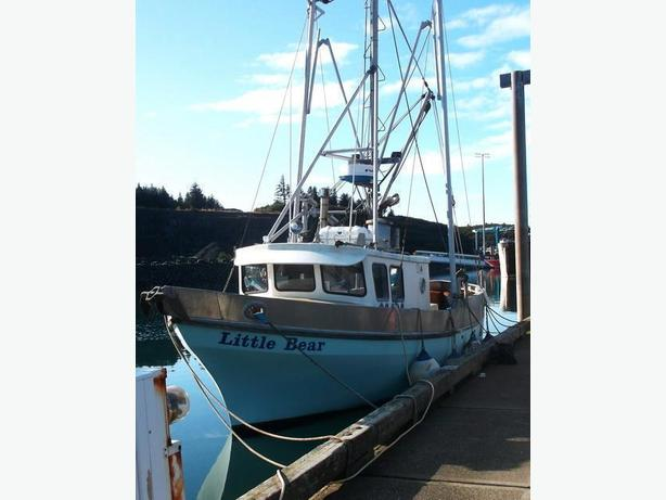 Alaska Fishing Crab Boat For Sale - Little Bear
