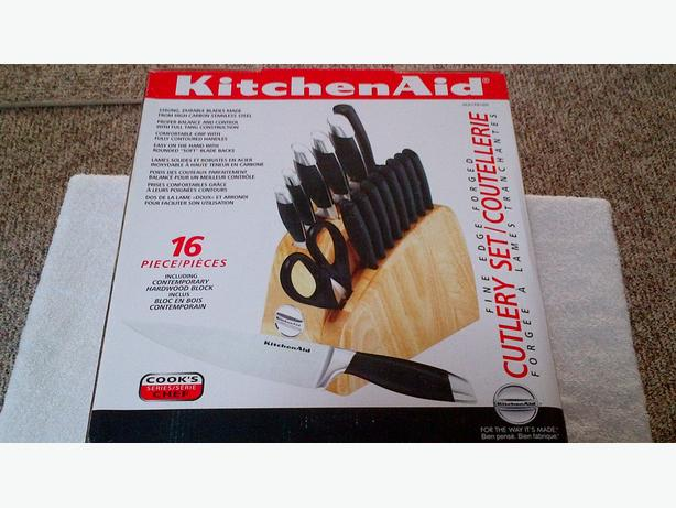 KitchenAid 16 pce Cook's Series SS Knife Set NEW