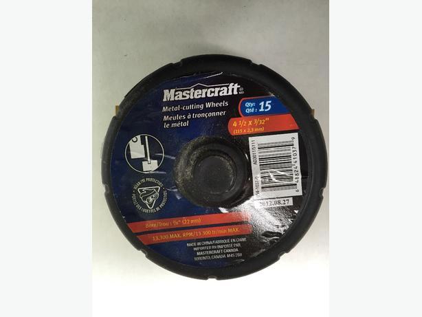 Mastercraft Metal Cutting Wheel Set (15)