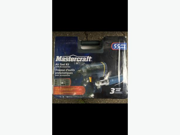 Mastercraft Air Tool Kit with accessories