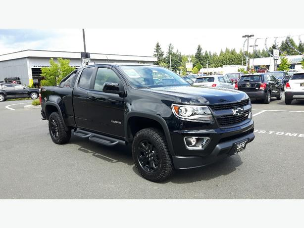 new 2016 chevrolet colorado 4wd z71 trail boss for sale in parksville outside comox valley. Black Bedroom Furniture Sets. Home Design Ideas