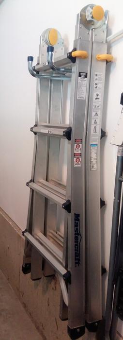 mastercraft 17 ft multi task ladder manual