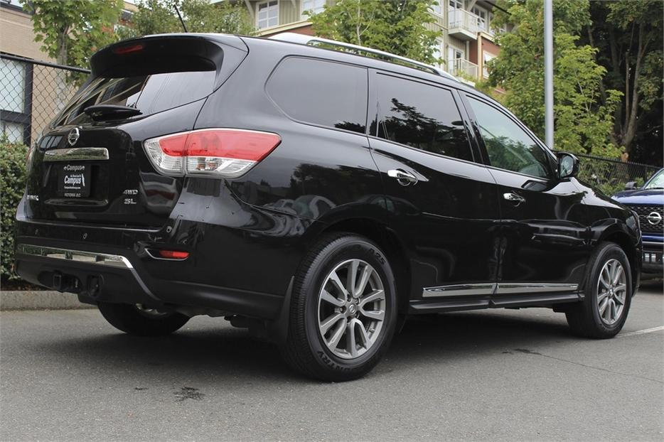 Central Valley Nissan >> 2015 Nissan Pathfinder SL + Prem/Tech Victoria City, Victoria