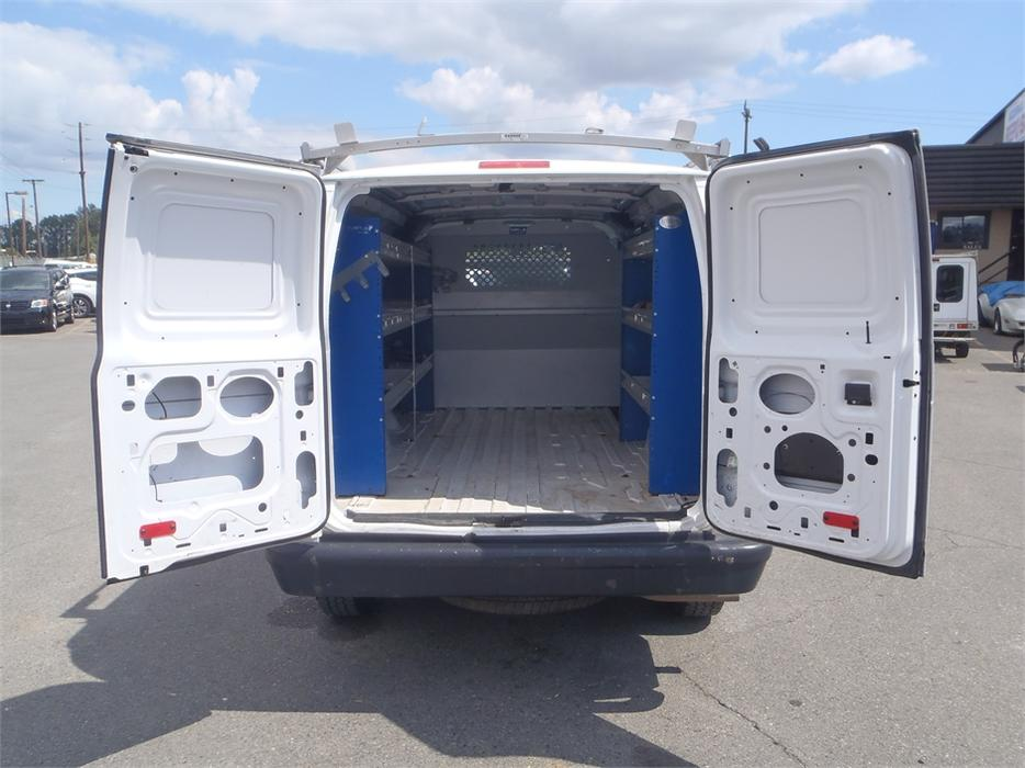 2010 Ford Econoline E 250 Cargo Van With Ladder Rack Outside Comox Valley Campbell River Mobile