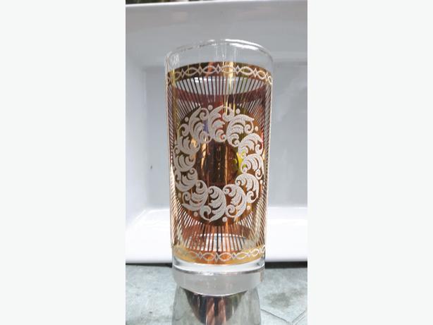 Unique gold plated glasses