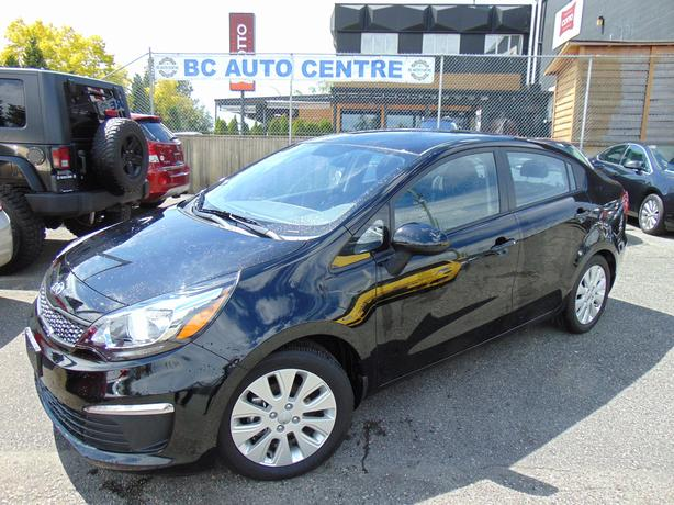 2016 Kia Rio 4dr Sdn Manual LX - only 6700km