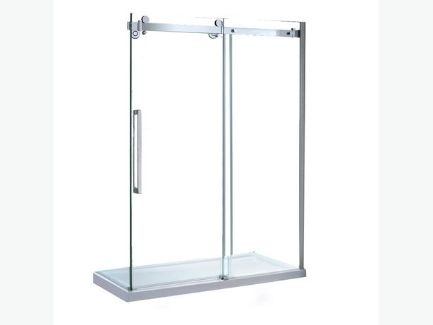 Jacuzzi Ove Bel 60 Glass Shower Doors Brand New Outside