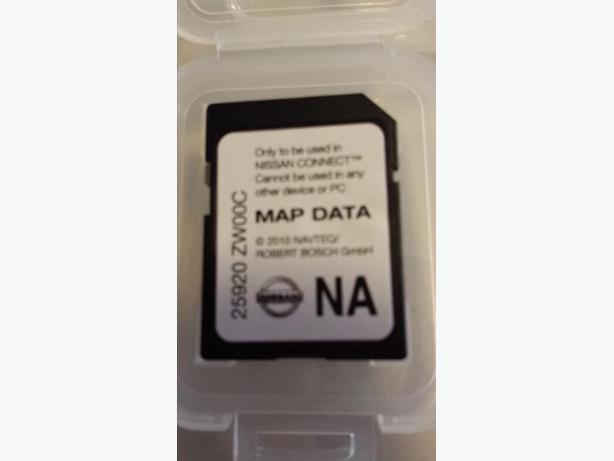 2011 nissan navigation card