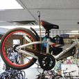 Evo 2-Up folding trailer bike
