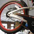 Evo 2-Up folding trailer bike