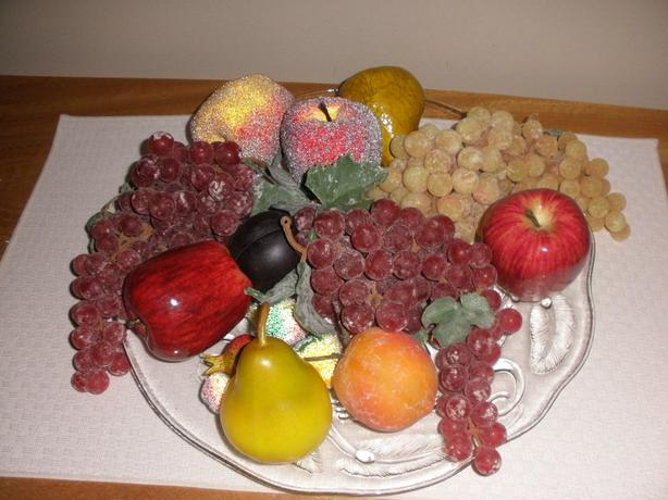 Plastic Fruit Ornaments (top quality)