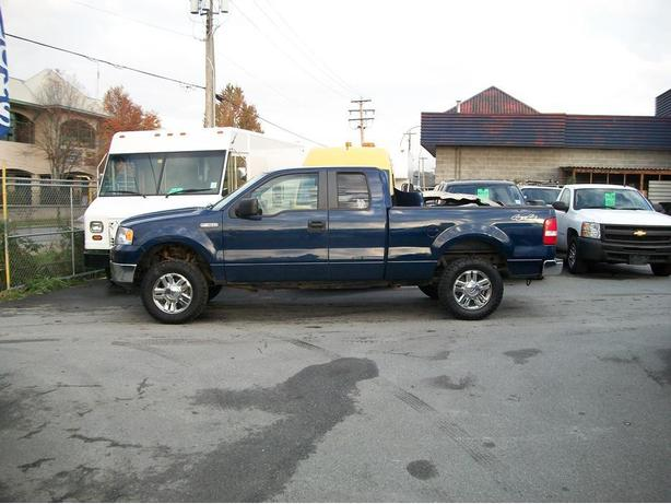 2008 Ford F-150 4X4 SuperCab Short Box