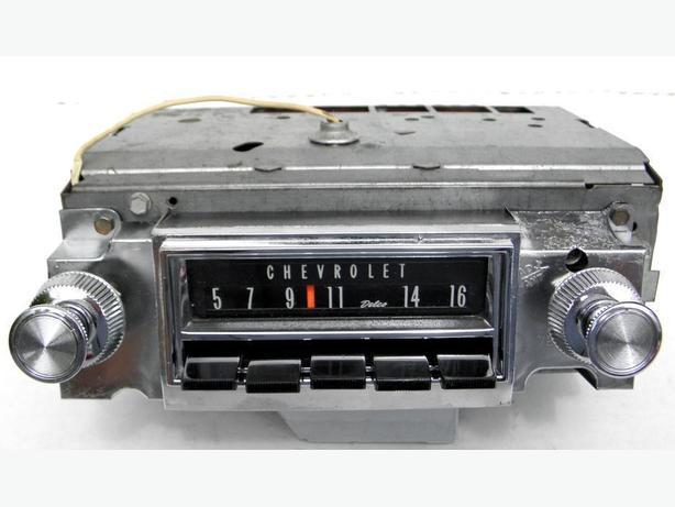 1966 Chevy Impala SS AM Delco Radio 66