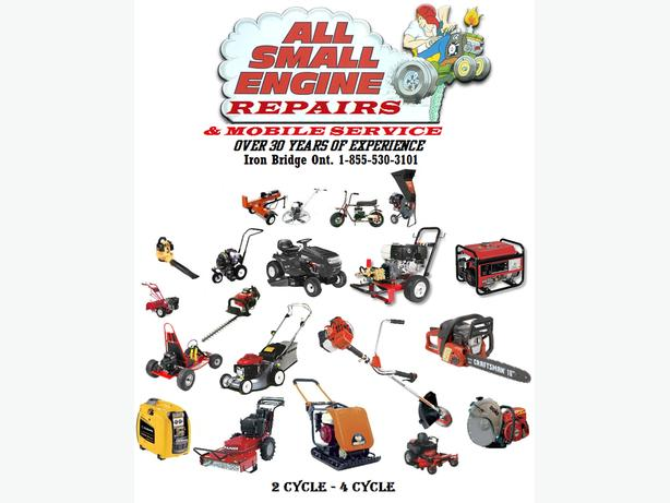 ALL SMALL ENGINE REPAIRS & RV MOBILE SERVICE Iron Bridge