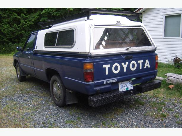 1986 Toyota pick up truck diesel