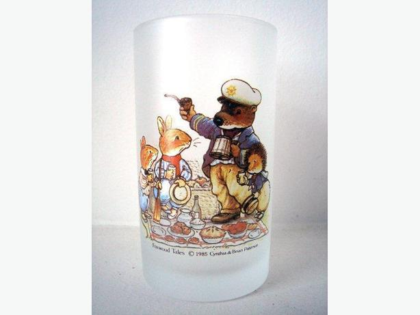 Foxwood Tales - Frosted Drinking Glass (Set of 2)