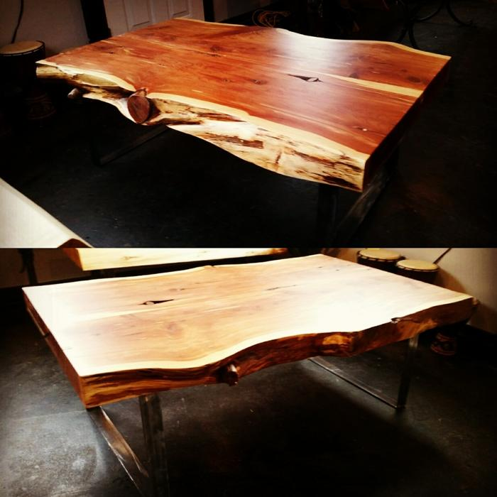 Live edge dining room tables outside metro vancouver for Dining room tables kelowna