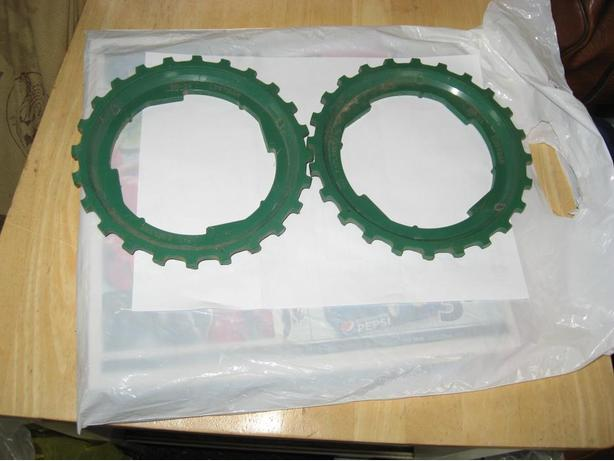 Set of plates for John Deere 246 - 2row corn planter, never used.