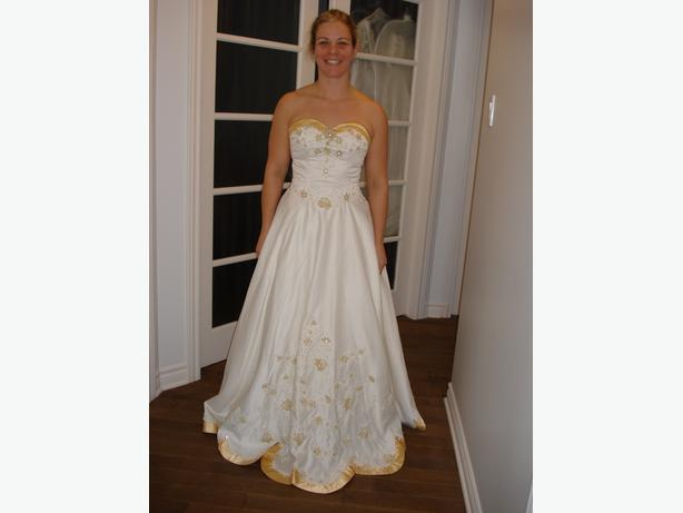 WEDDING GOWN OR PROM DRESS