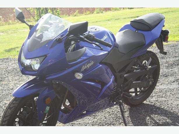 250 cc 2009 kawasaki ninja