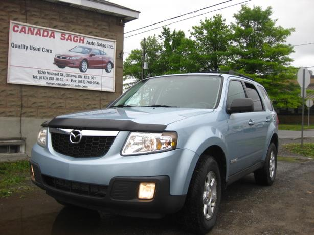 2008 Mazda Tribute GS, LOADED V6, AWD , 12M.WRTY+SAFETY $5990