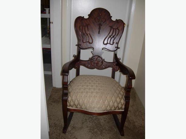 Mahogany Rocking Chair