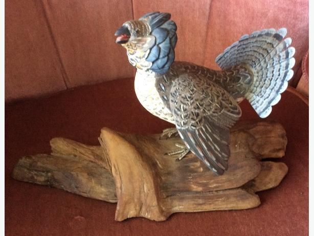 Wanted- Duck or Bird Carvings by Tom Hunter Flesherton, Ontario