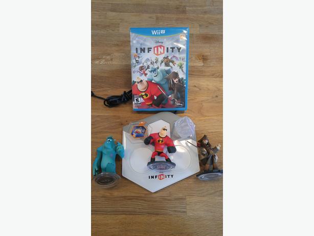 WiiU Disney Infinity Pack