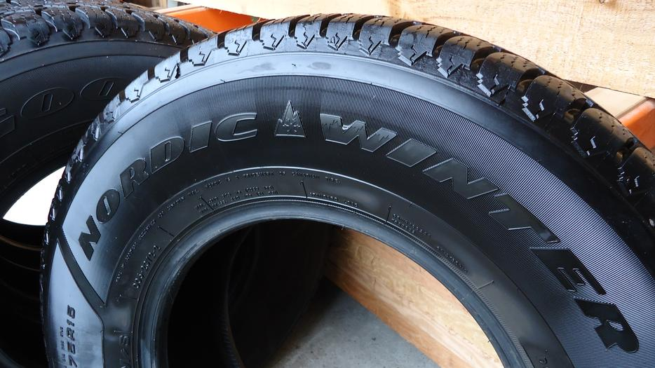 Used Tires Oshawa >> Goodyear Nordic Winter Tires 235/75R15 - 94% Tread ...