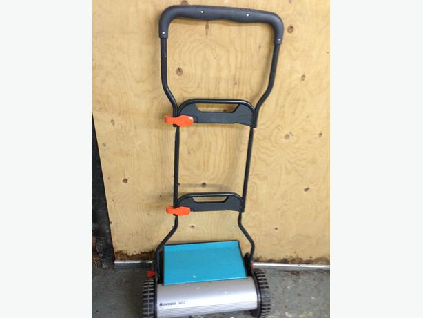 Gardena push mower and Toro weed wacker