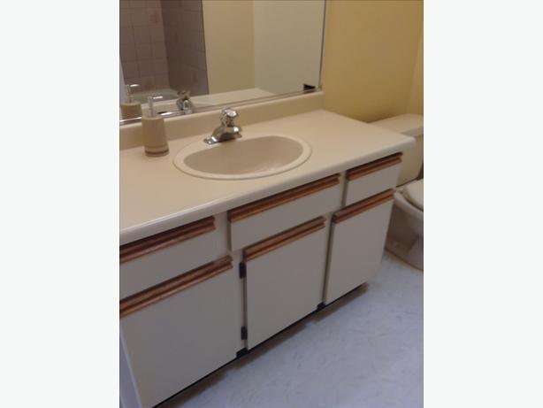 Bathroom Vanity With Sink And Fixtures Saanich Victoria