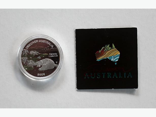 2008 Australian $1 Silver Discover Australia Coin