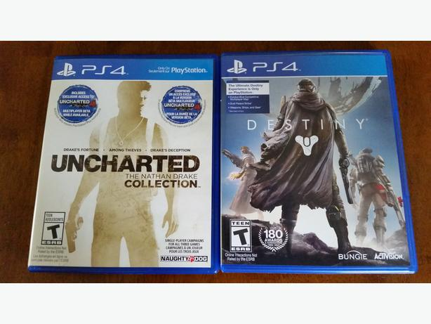 2x PS4 Games **Mint Condition / Like New)**