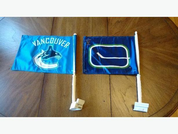 VANCOUVER CANUCKS NHL CAR FLAGS