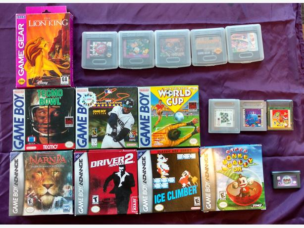 Nintendo, Sega, Sony PSP and Xbox games for sale! Great shape, most CIB