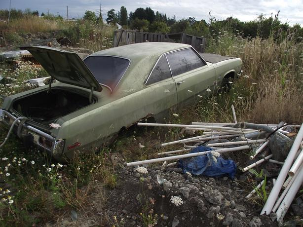 1973 PLYMOUTH SCAMP (SOLD AS PARTS )