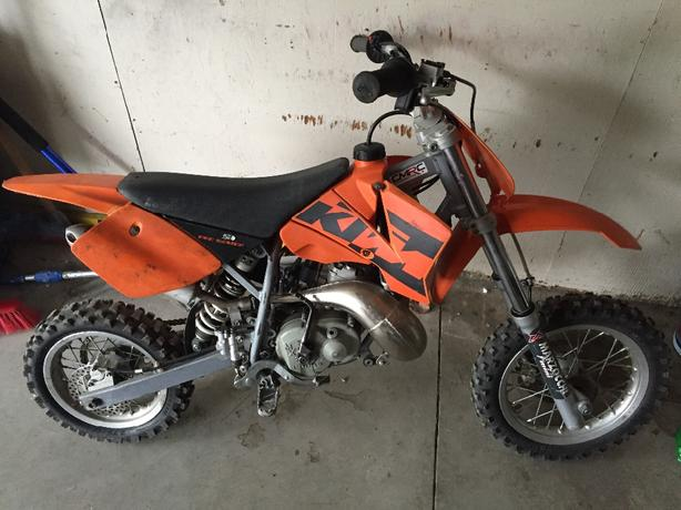 2004 ktm pro senior 50cc dirt bike south regina regina. Black Bedroom Furniture Sets. Home Design Ideas