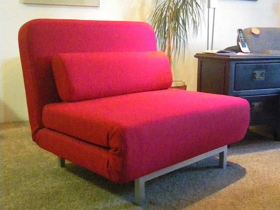 Red Iso Flip Chair Sofa Bed Victoria City Victoria Mobile