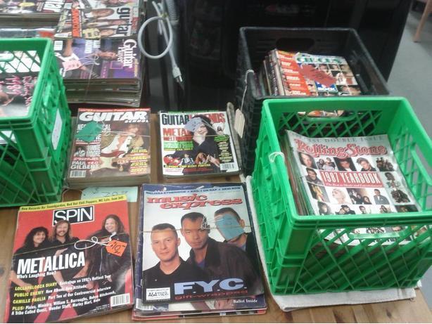 Older Rock Magazines