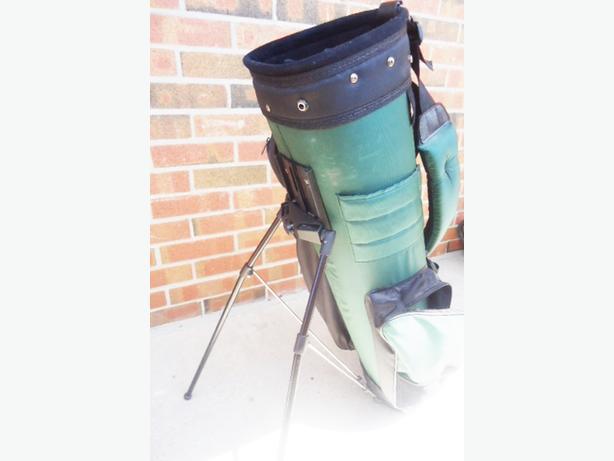 Golf Stand Bag by Alien Golf - Hunter Green - Like New