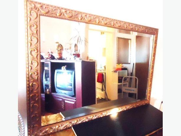 Bombay Company - Large Mirror (Wood Frame - Gold Finish)