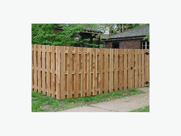 1x6 cedar fence boards