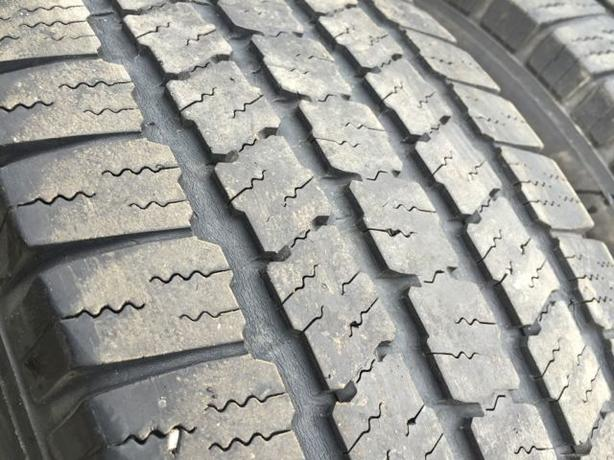 Installed and balanced Set of 4 225 70 16 Michelin LTX